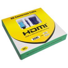 1.8m HDMI al cable del VGA (1m a 5m)