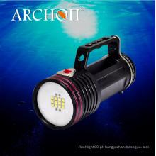Archon Wg76W Goodman lidar com Mergulho Video Light CREE LED Max 6500 Lumens