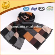 2015 Neuer Entwurf 100% Silk Material gebürsteter gewebter Männer Silk Schal