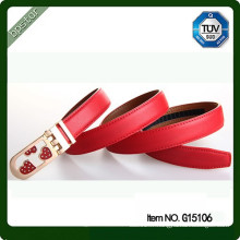 Vente en gros de ceinture en cuir sans trous courroie de cuir sincère sincère bureau de guangzhou