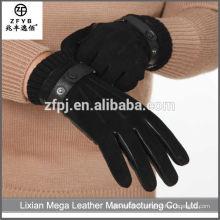Gant de conducteur de gant de travail en cuir de haute qualité en gros de haute qualité