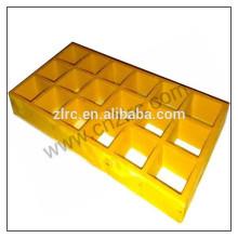 Grades de fibra de vidro moldadas Grelhas de anti-chamas frp