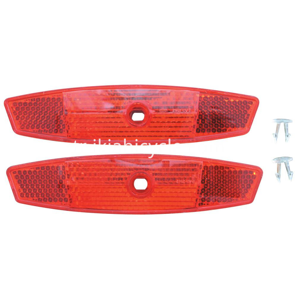 bicycle spoke reflector