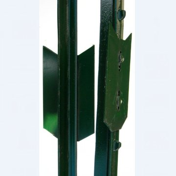 galvanized metal studded T post for farm fence