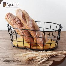 Metal Bakery Bread Wire Basket Set
