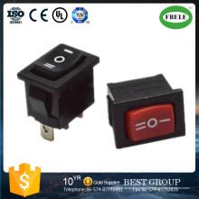 Interruptor basculante de un polo Interruptor basculante miniatura