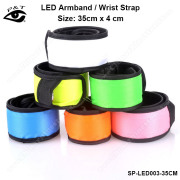 Flash led arm belts led wrist bands for party cycling skating sport bar lifesaving supplies
