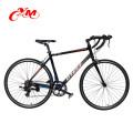 Alibaba mens road bikes zum verkauf billig / 7-fach scheibenbremse rennrad / 26 zoll schwarz fahrrad