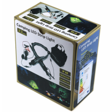 LED Camping / Zelt String Flexible Light Bag Kit Paket