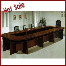 wooden veneer conference table