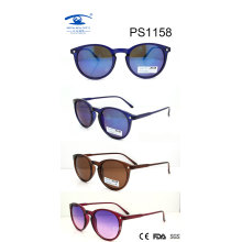 New Arrival Vest Design Plastic Sunglasses (PS1158)