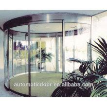 Puertas de vidrio corredizas curvas automáticas comerciales DPER