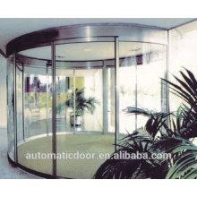 DPER commercial automatic curved sliding glass doors