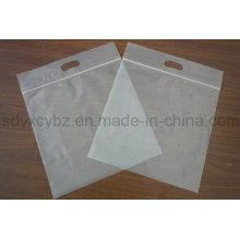 Weiß Transparente Plastik Ziplock Verpackung Tasche