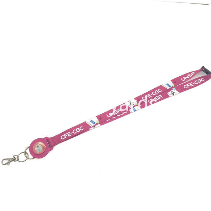 Printed Lanyards for Exhibition