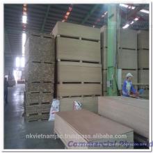 Contrachapado de muebles de bajo precio / Contrachapado de muebles baratos para la venta / 1220x2440 okoume contrachapado para muebles