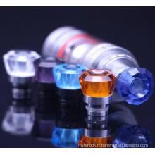 Pointe en goutte à cristaux liquides colorée Diamon