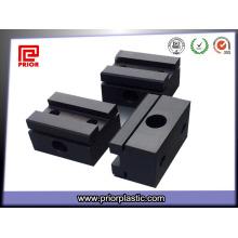 Acetal CNC Bearbeitungsteil Schwarz Farbe