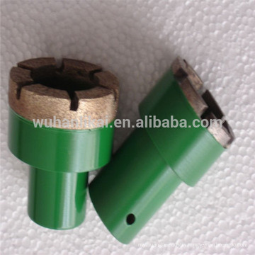 gold supplier grinding wheel Sintered diamond mounted point for brake lining brake pad