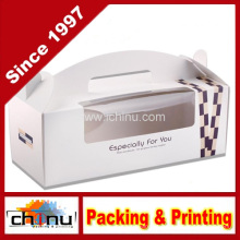 OEM personalizado Gable caixa de papel ondulado (1170)