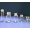 Frascos de vidro Tubular clara Mini 10ml para a embalagem de cosmética