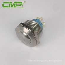 30mm European Style Electrical Metal Switch