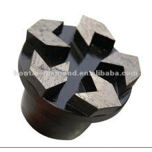 Tapones de diamante para la molienda de hormigón
