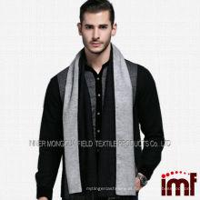 Alta qualidade homens encantadores worsted lenço 100% lã estilo coreano