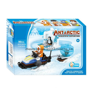 Boutique Building Block Toy-Antarctic Scientific Expedition 01