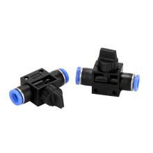 Encaixe de válvulas de controle pneumáticas de plástico da série HVFF