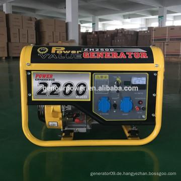 Power Value klassischen Stil max Leistung 2.5kw Generator 2kv zum Verkauf