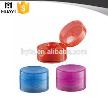 hot sale 24mm plastic flip top bottle cap