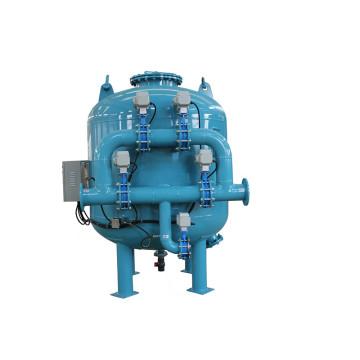 Production de filtre à sable automatique à eau potable