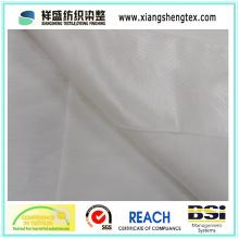 Tecido de seda tingido de fios e de linho