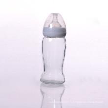 Bouteilles Sunny Natural 8 oz, sans BPA, avec tétine en silicone