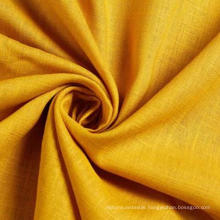 30%Rayon 70%Linen Slub Fabric for Garment