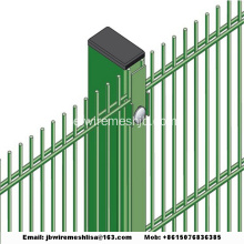 Powder Coated Double Wire Mesh Fence Paneler