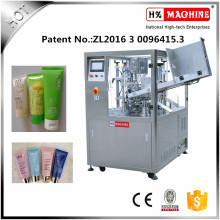Machine de remplissage et de cachetage de tube mou de haute précision pour la pâte dentifrice