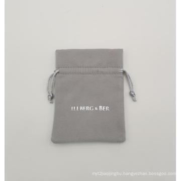 Highly custom microfiber drawstring bag packing jewelry