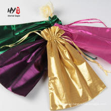 New custom packaging extension silk satin hair bag
