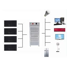 Небольшой дом независимый генератор солнечной системы