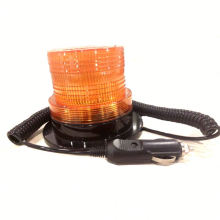 12V 24V High Quality Certificate Amber Led Beacon Light With Cigar Plug Magnetic