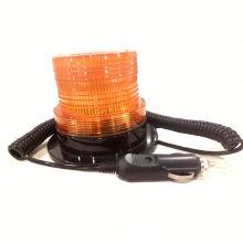 12 V 24 V de Alta Qualidade Certificado Âmbar Levou Luz de Baliza Com Charuto Plug Magnético