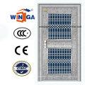 Imperméable à l'extérieur en acier inoxydable Porte de verre de sécurité (W-GH-22)
