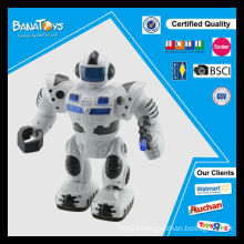 Best funny promotion gift toy light music kids fighting robot toy