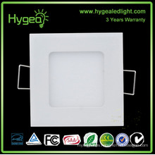 shenzhen factory square led ceiling Ultra slim SMD2835 18w led panel light