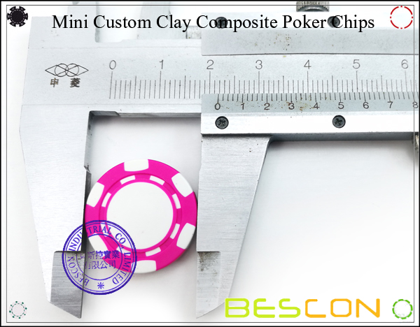 Bescon New Style Clay Chip with Custom Sticker-17