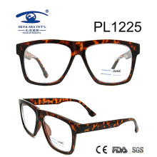 2017 New Design Square Shape Cp Optical Glasses (PL1225)