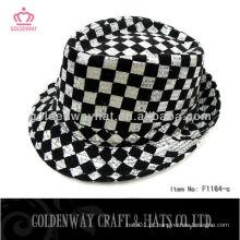 Chapéu de festa de lantejoulas para cavalheiro