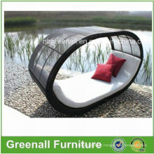 Rattan Outdoor Wicker Bench Patio